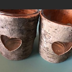 Other - Set of 2 votive candleholders (NEW)